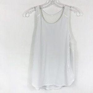 Lululemon | Mesh Sculpt Tank Top in Solid White